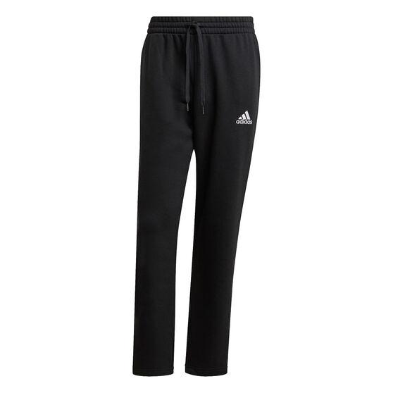 adidas Mens Volume Fleece Track Pants, Black, rebel_hi-res