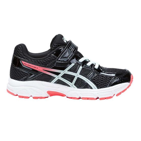 9482cb0e Asics Gel Contend 4 Junior Girls Running Shoes Black / Pink US 11