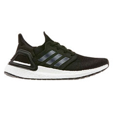 adidas Ultraboost 20 Kids Running Shoes Black / White US 4, Black / White, rebel_hi-res