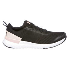Under Armour Aura Womens Training Shoes Black / Pink US 6, Black / Pink, rebel_hi-res