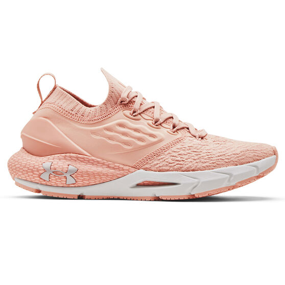 Under Armour HOVR Phantom 2 Womens Running Shoes, Pink/White, rebel_hi-res