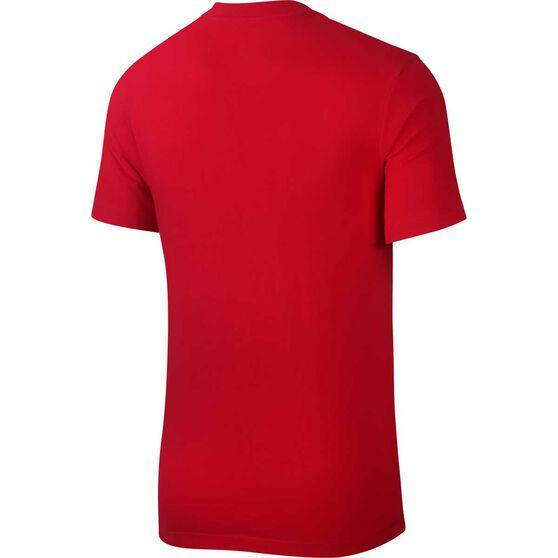 Nike Mens Sportswear Brand Mark Tee, Red, rebel_hi-res