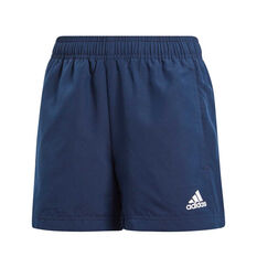 adidas Boys Essential Chelsea Shorts Navy 6, Navy, rebel_hi-res
