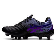 Asics Lethal Tigreor IT FF 2 Womens Football Boots Black/Blue US 6.5, Black/Blue, rebel_hi-res