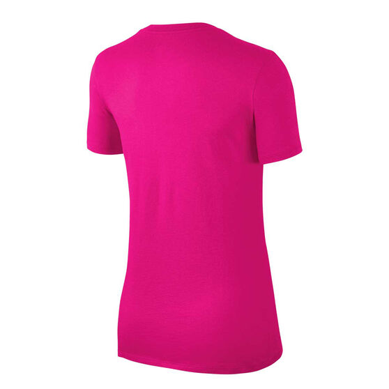 Nike Womens Just Do It Swoosh Tee Hot Pink XS, Hot Pink, rebel_hi-res