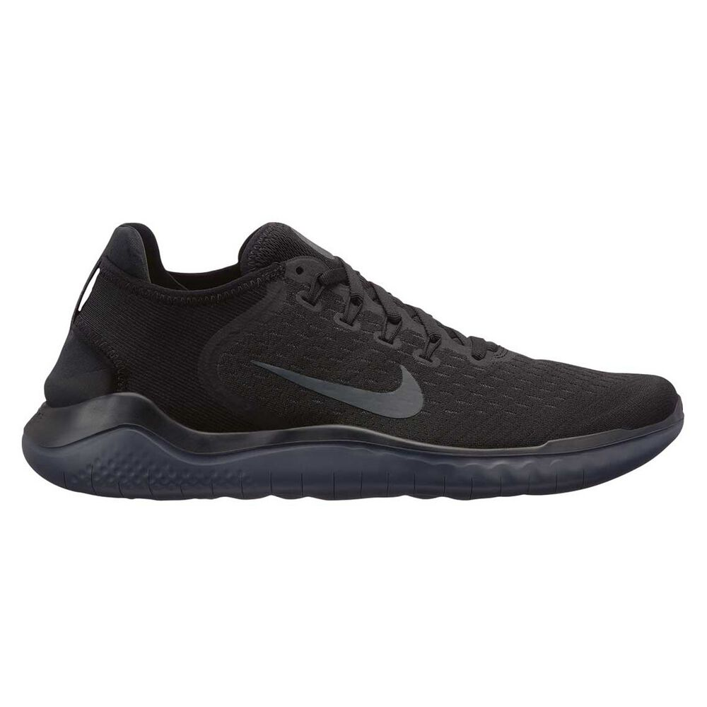 Nike Free RN 2018 Mens Running Shoes Black   Black US 10  f18b881d2225