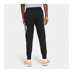 Nike Mens Sportswear Just Do It Fleece Pants, Black, rebel_hi-res