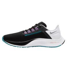 Nike Air Zoom Pegasus 38 Mens Running Shoes Black/Silver US 7, Black/Silver, rebel_hi-res