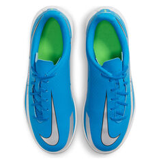 Nike Phantom GT Club Kids Indoor Soccer Shoes, Blue, rebel_hi-res