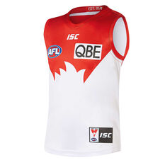 Sydney Swans 2019 Kids Home Guernsey Red / White 8, Red / White, rebel_hi-res