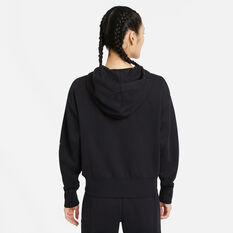 Nike Air Womens Air Full-Zip Fleece Hoodie Black XS, Black, rebel_hi-res