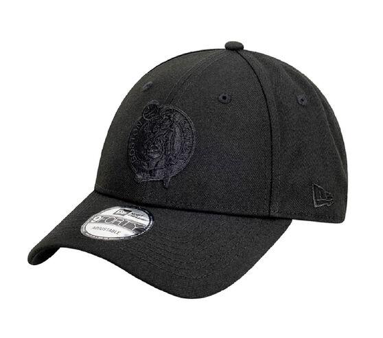 Boston Celtics New Era Black on Black 9FORTY Snapback, , rebel_hi-res