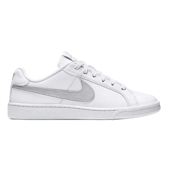 089c43c66bf8f3 Nike Court Royale Womens Casual Shoes White   Silver US 6