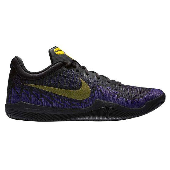 b9ab902b045f Nike Mamba Rage Mens Basketball Shoes Black   Yellow US 8.5