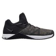 Nike Metcon Flyknit 3 Mens Training Shoes Black / White US 7, Black / White, rebel_hi-res