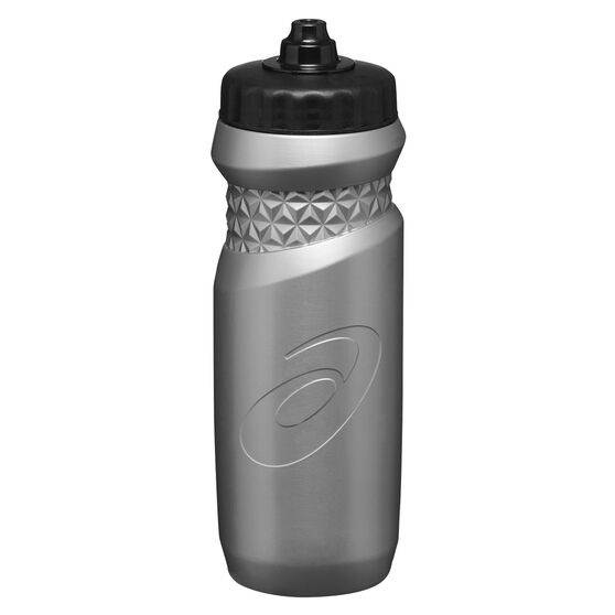 Asics 650ml Water Bottle Silver, Silver, rebel_hi-res