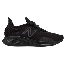 New Balance Fresh Foam Roav Mens Running Shoes Black US 7, Black, rebel_hi-res