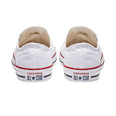 Converse Chuck Taylor All Star Low Casual Shoes, White, rebel_hi-res