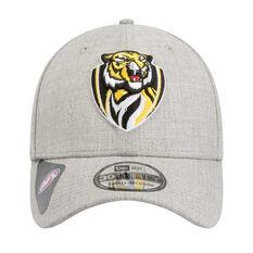 Richmond Tigers 2020 New Era 39THIRTY Heather Cap Grey, Grey, rebel_hi-res