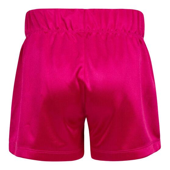 Nike Girls Dazzle Shorts, Purple, rebel_hi-res
