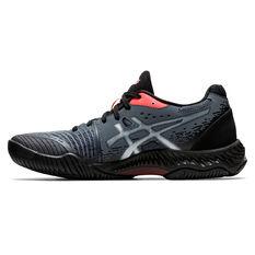Asics Netburner Ballistic FF 2 Womens Netball Shoes Black/Red US 6, Black/Red, rebel_hi-res