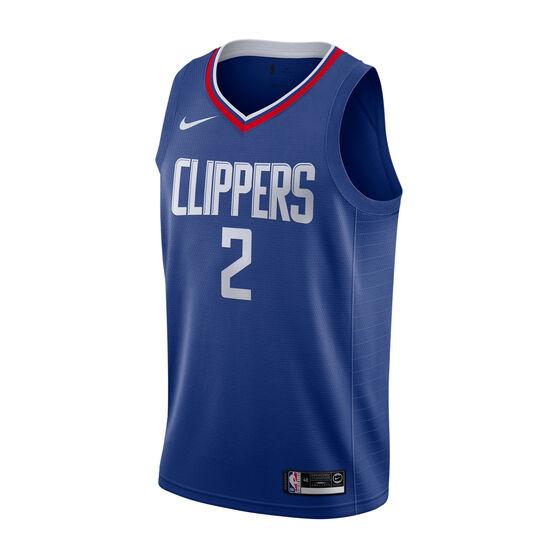Nike Los Angeles Clippers Kawhi Leonard Mens Icon Edition Swingman Red / White S, , rebel_hi-res