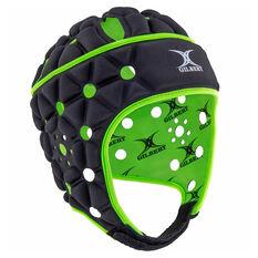 Gilbert Air Protective Headgear Black S, Black, rebel_hi-res