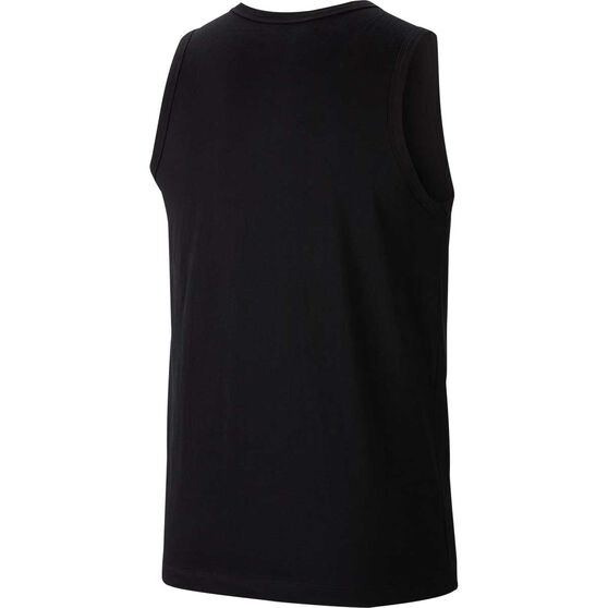 Nike Mens Sportswear Just Do It Tank, Black / White, rebel_hi-res