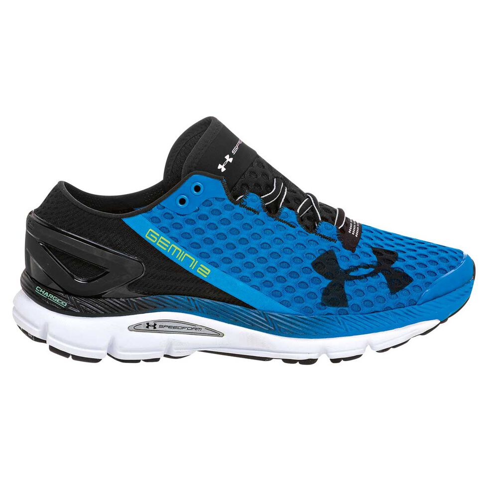 Under Armour Speedform Gemini 2 Mens Running Shoes Blue   Black US 7 ... ef0d4851556