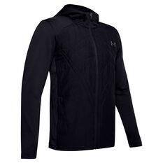 Under Armour Mens ColdGear Sprint Hybrid Jacket Black S, Black, rebel_hi-res
