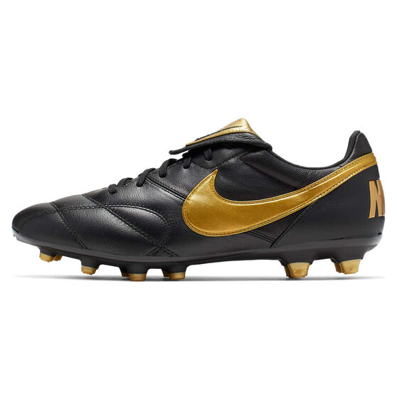 Nike Premier II Football Boots, Black / Gold, rebel_hi-res
