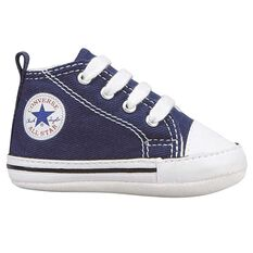 Converse Chuck Taylor First Star Infant Shoes Navy US 1, Navy, rebel_hi-res
