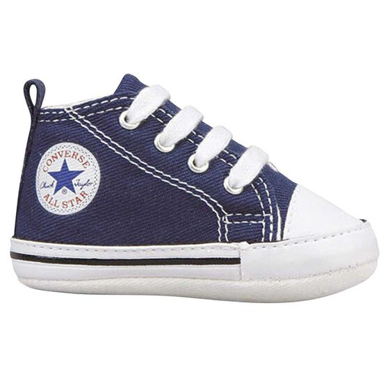 Converse Chuck Taylor First Star Infant Shoes, Navy, rebel_hi-res