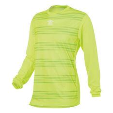 Umbro Goal Keeper Jersey Yellow M YTH, Yellow, rebel_hi-res