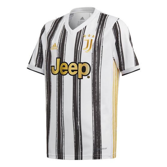 Juventus FC 2020/21 Kids Home Jersey, White, rebel_hi-res
