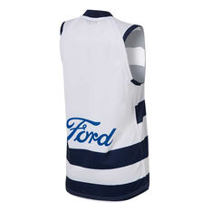 Geelong Cats 2020  Mens Home Guernsey Blue/White XS, Blue/White, rebel_hi-res