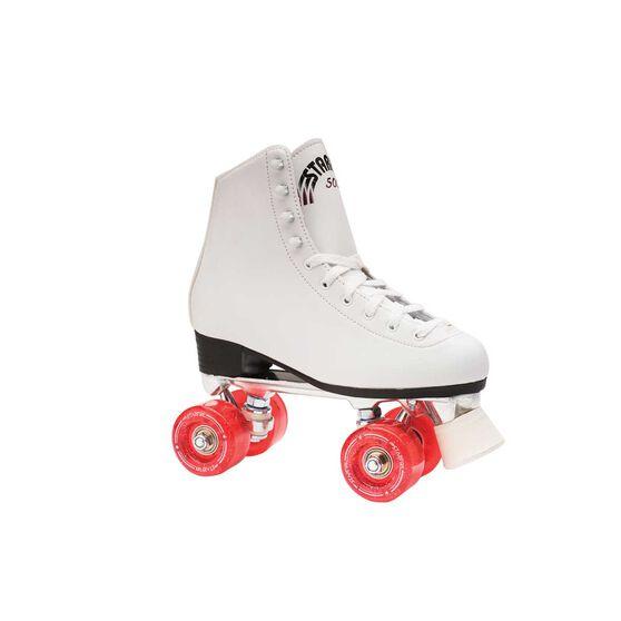 Starfire 500 Kids Roller Skates, White, rebel_hi-res