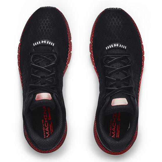 Under Armour HOVR Machina 2 Colourshift Mens Running Shoes, Black/Red, rebel_hi-res