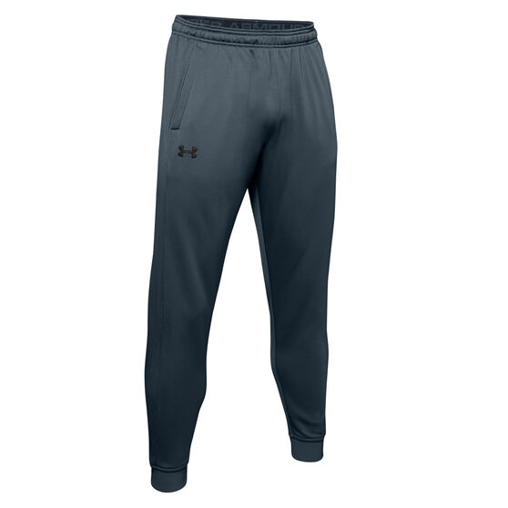 Under Armour Mens Armour Fleece Track Pants, Grey, rebel_hi-res
