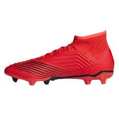 adidas Predator 19.2 Mens Football Boots Red US Mens 7 / Womens 8, Red, rebel_hi-res
