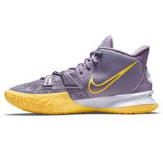 Nike Kyrie 7 Basketball Shoes Purple US 7, Purple, rebel_hi-res