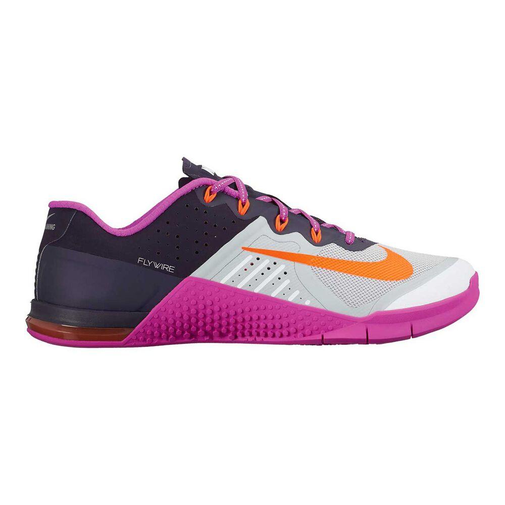 Nike Metcon 2 Womens Training Shoes Purple   Black US 7  30d3a3d15