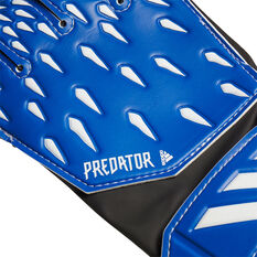 adidas Predator Junior Training Goalkeeping Gloves Blue 3, Blue, rebel_hi-res