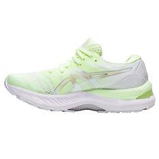 Asics GEL Nimbus 23 Womens Running Shoes Yellow/Silver US 6, Yellow/Silver, rebel_hi-res