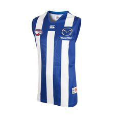 North Melbourne Kangaroos 2018 Mens Home Guernsey, , rebel_hi-res