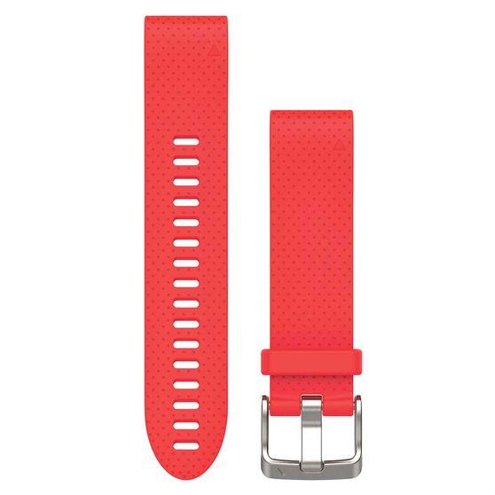 Garmin Fenix 5S QuickFit Silicone Band Azalea Pink 20mm, , rebel_hi-res