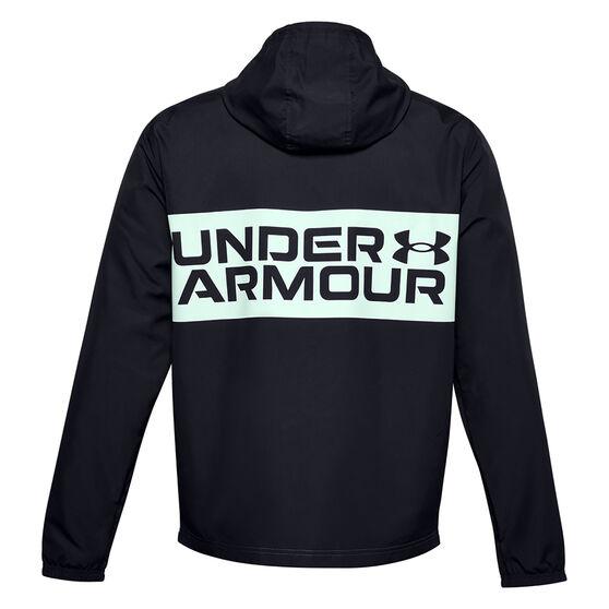 Under Armour Mens Sportstyle Wind Jacket, Black, rebel_hi-res