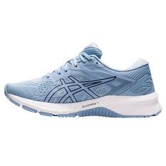 Asics GT 1000 10 D Womens Running Shoes Blue/Coral US 6, Blue/Coral, rebel_hi-res