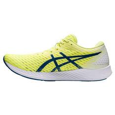 Asics Hyper Speed Mens Running Shoes Yellow/Blue US 7, Yellow/Blue, rebel_hi-res