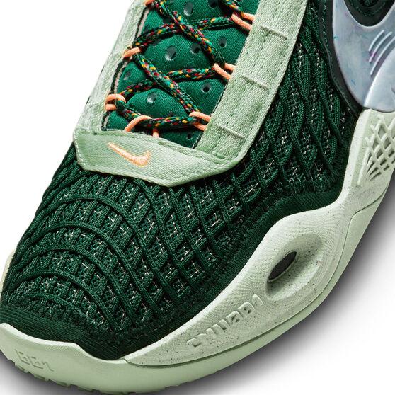Nike Cosmic Unity Gorge Green Basketball Shoes, Green, rebel_hi-res